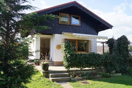 Holiday home in the Thuringian Forest with tiled stove, fenced garden and terrace