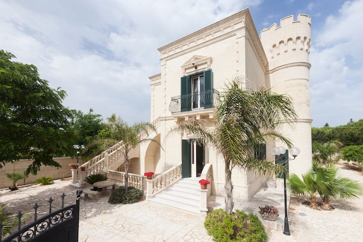Un castello a due passi dal mare! - Monacizzo-librari-truglione - Wohnung