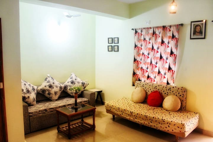 1 BHK Service Apartment in GOA with Swimming Pool