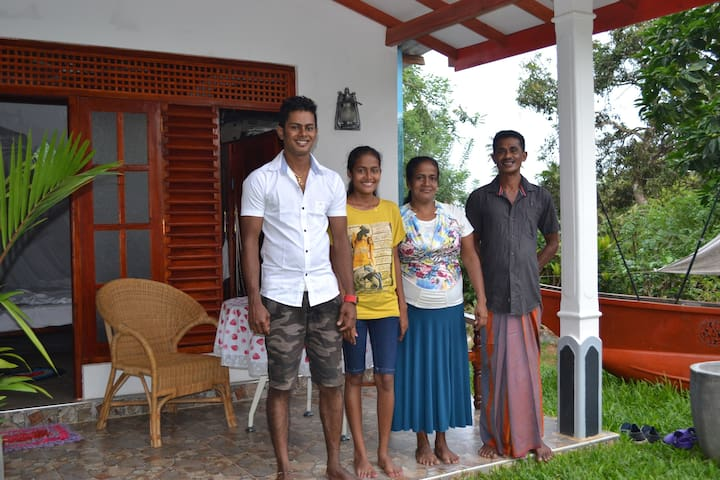 Swiss Lanka Bed & Breakfast - Gandara