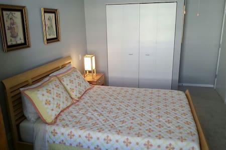 Bright and Spacious Private Room in Chicago - Chicago - Condominium