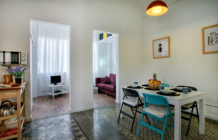 Quiet and sunny apartment