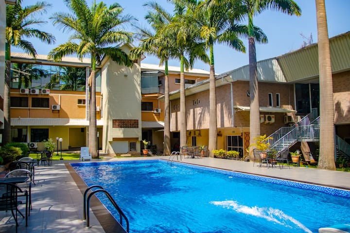 ANABEL SUITES: LUXURY SUPERIOR DOUBLE (with PATIO)