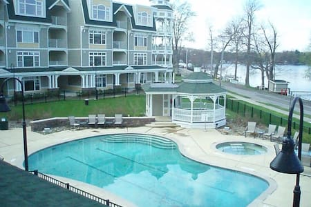 Bemus Point Upscale Lakeview Condo - Bemus Point - Apartament