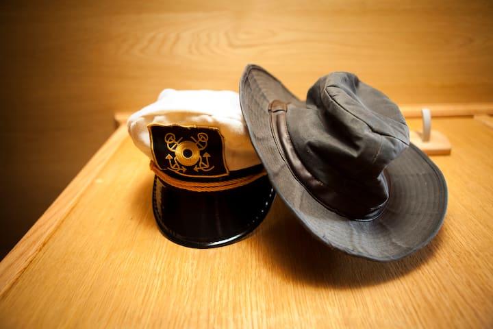 captains hats