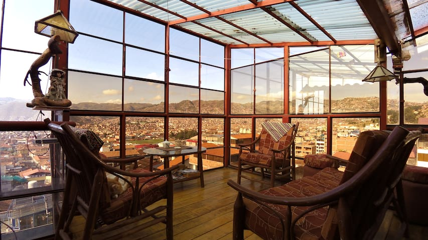 HAYKUMUY CUSCO APARTMENT 2 GREAT VIEW AT LOW PRICE