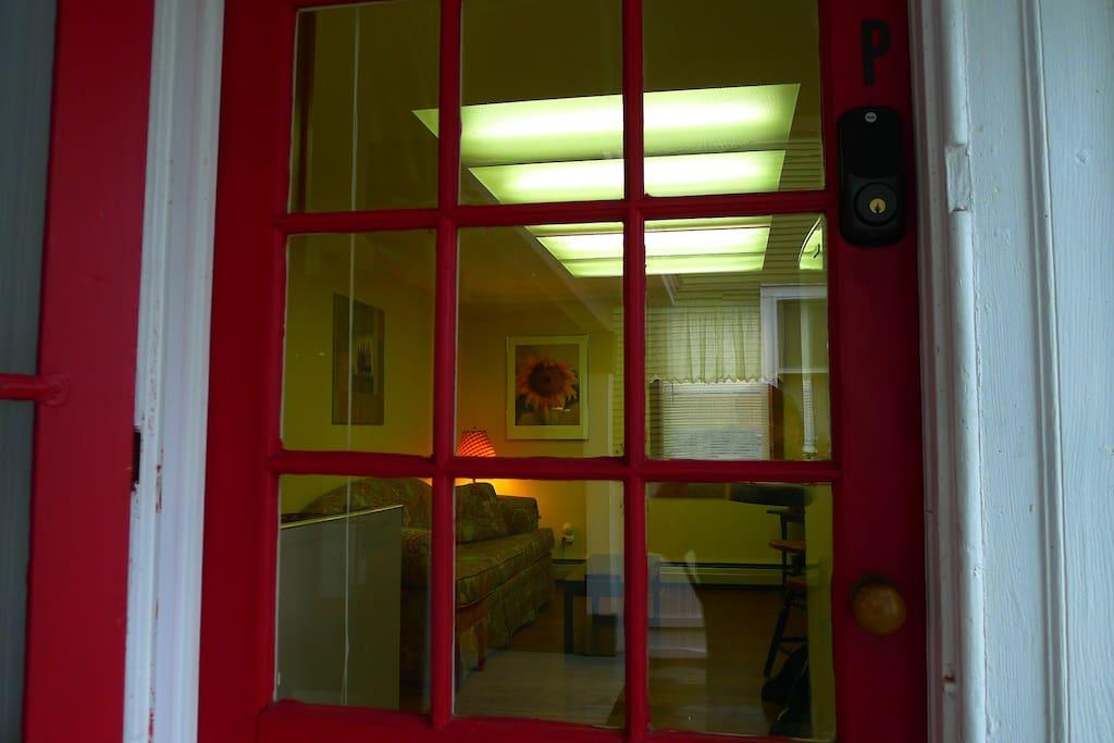 Suite P Entrance