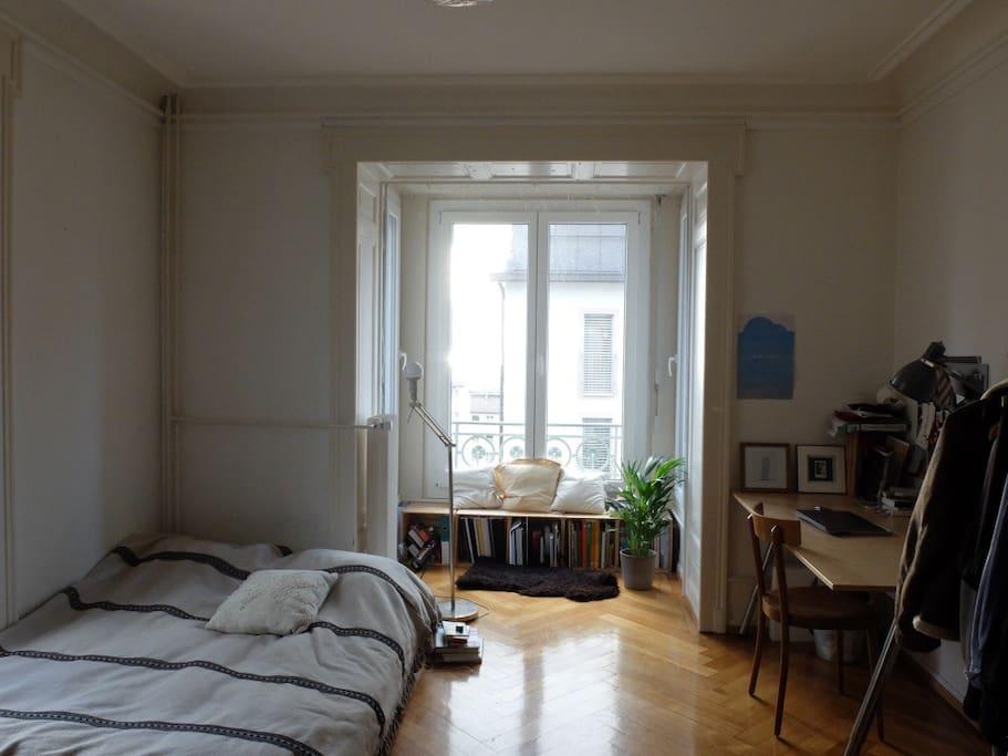 Grande chambre lumineuse lausanne appartements louer for Chambre a louer lausanne