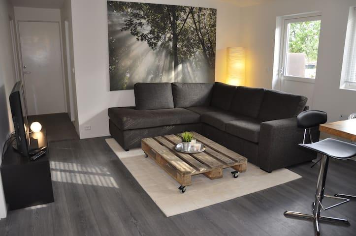 Koselig leilighet i rolig område - Vennesla - Apartamento
