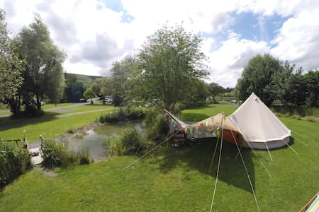 Betty is a Beautiful Bell Tent - Hundred House - Tent