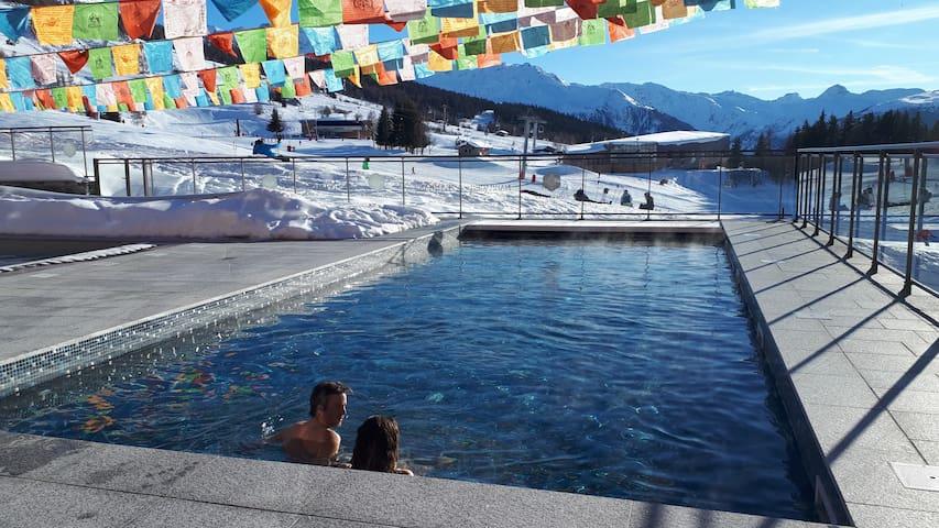 ARC 1800 | 100m2 | Vue panoramique | Piscine | Spa