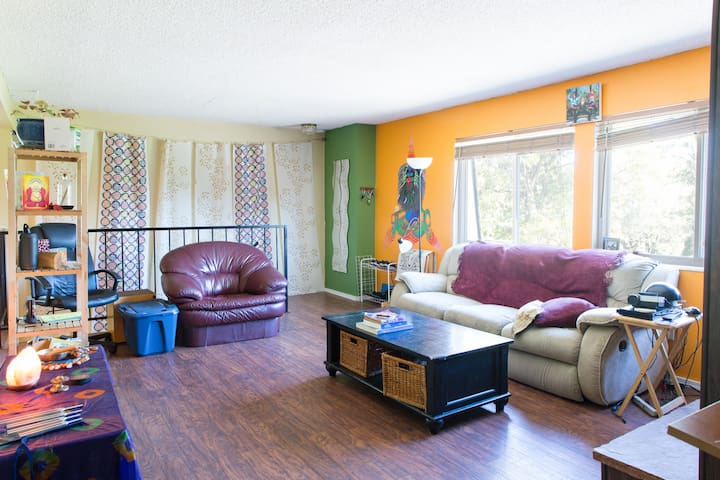 Colorful & Loving Denver Condo (Private Room) - Denver - Condominium