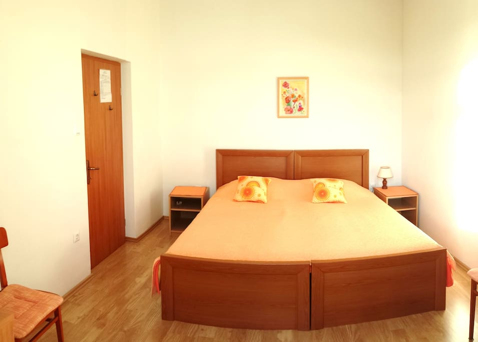 Modern double bed room