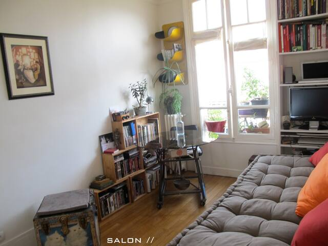 sweet appartment / Paris-Montreuil