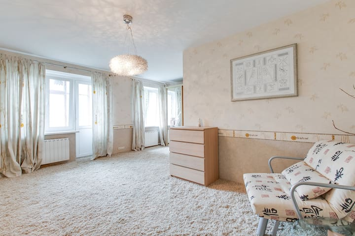 Просторная уютная квартира - Moskwa