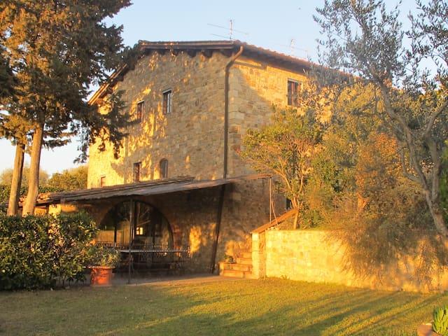 Villa con piscina  Toscana chianti - Barberino Val d'Elsa - House