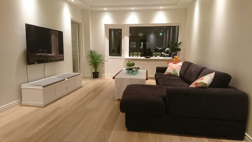 Majorstuen: Spacious 2R apartment with balcony