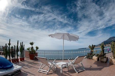 Seafront, Italian/French riviera - Ventimiglia