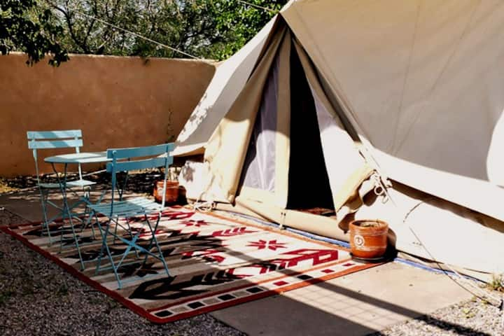 Hot Springs Glamping Dream in Sufi the Safari Tent