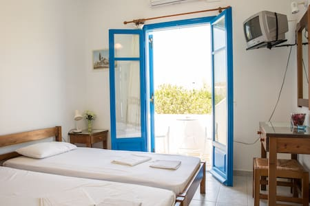 Apartment near Parikia (Paros), Hospitality.