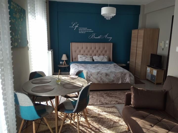 New, cozy and modern studio in Alexandroupoli