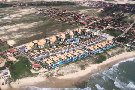 APARTAMENTO 3 SUITES NO TAÍBA BEACH RESORT - São Gonçalo do Amarante - อพาร์ทเมนท์