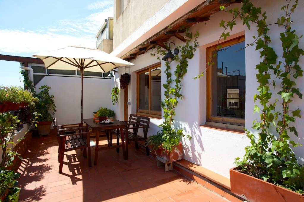 Authentic penthouse 2 terraces appartamenti in affitto a for Appartamenti in affitto a barcellona