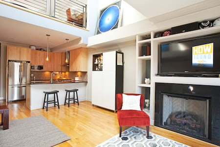 2BR/2.5BTH PH Loft featured on HGTV - Washington