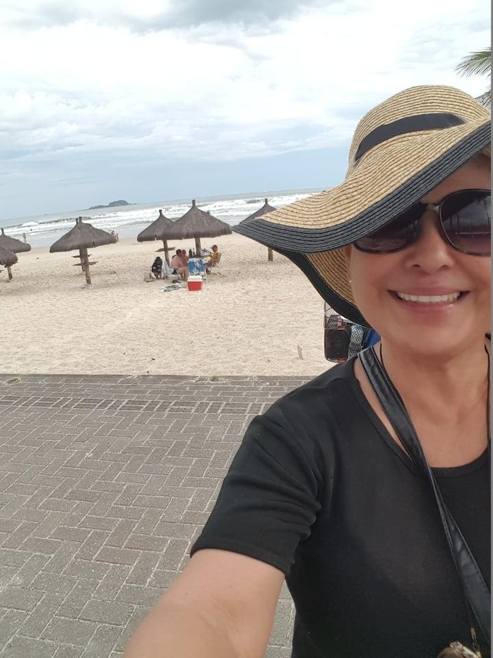 Suíte 4****Frente praia da enseada/Guarujá /Brazil