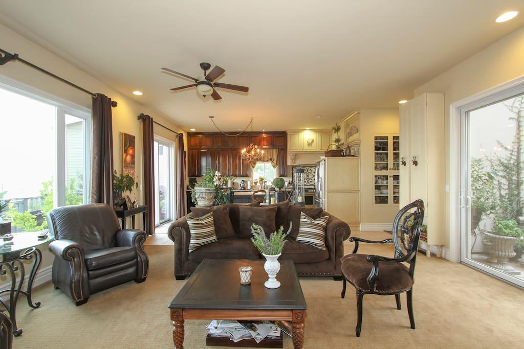 Opposite view - main floor living room