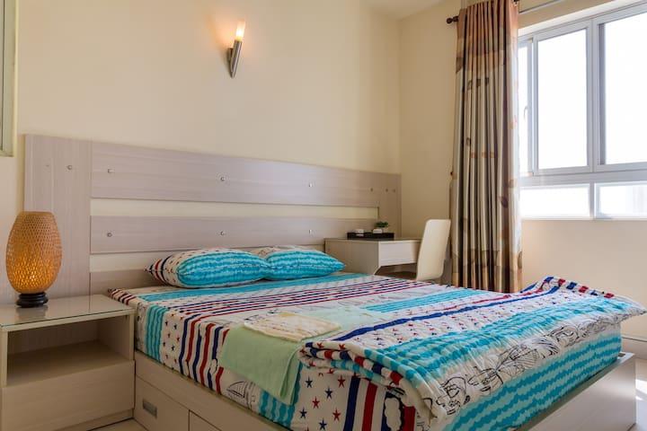 Bedroom3-pool-apartment-dist5 - Hồ Chí Minh - Lägenhet