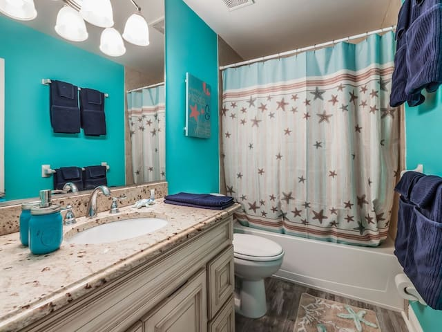 Hall guest bathroom