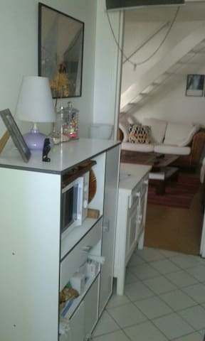appartement Type F3 à 2 min de la plage - L'Ermitage-Les-Bains - Bed & Breakfast