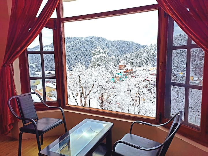 ★Spacious 01-Room in Cottage ★Star panoramic view★