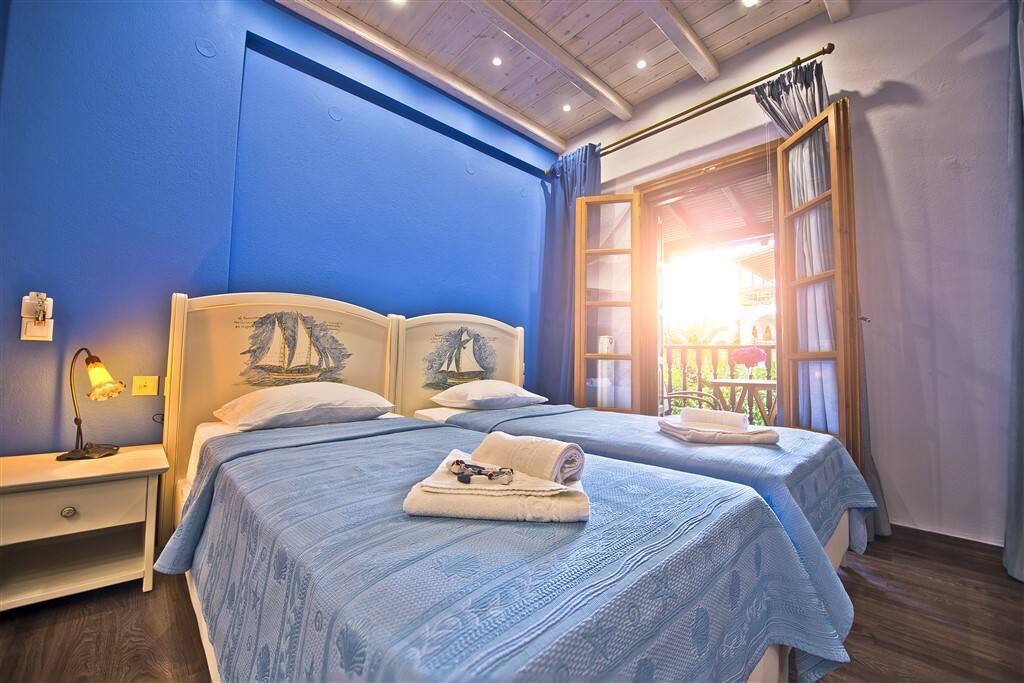 Superior Studio Blue with Garden View