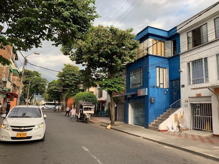 Apartamento 5 min a pie del centro de Pereira