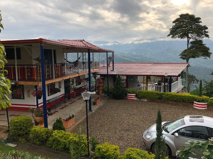 Hostel ecológico , Finca Café Jaguar.