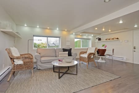 Modern Ground Floor Suite in Westside Vancouver