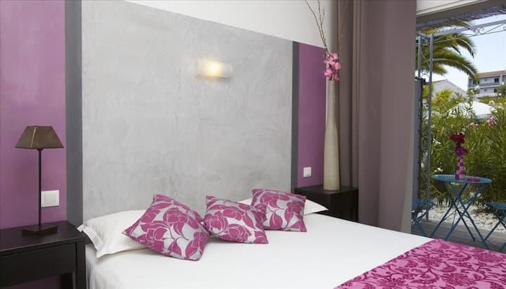 Chambre confort avec terrasse