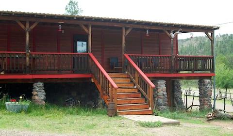 Suite 2 at Sapillo Crossing Rustic Lodge