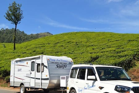 Green Kerala Getaways in Campervan/Caravan - Kakkanad