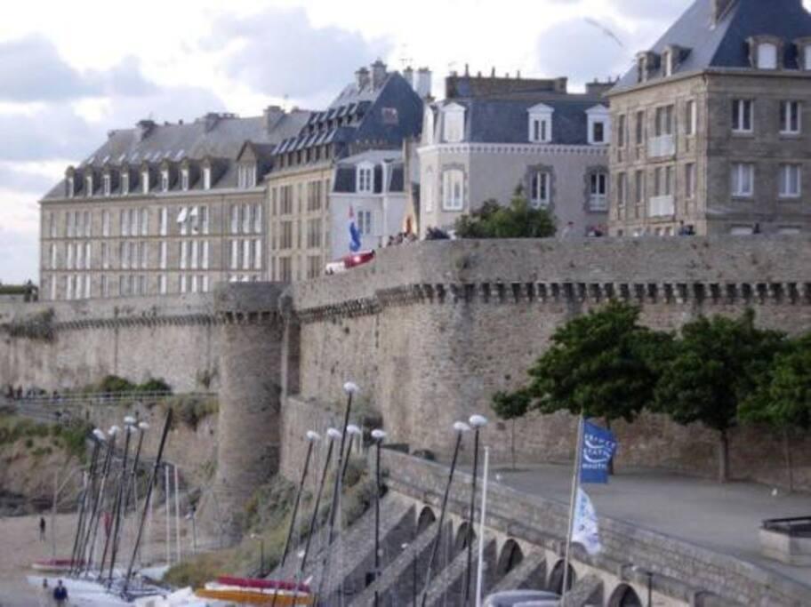 remparts de Saint Malo