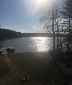 A Priceless View Right on The Lake - Greensboro - Casa