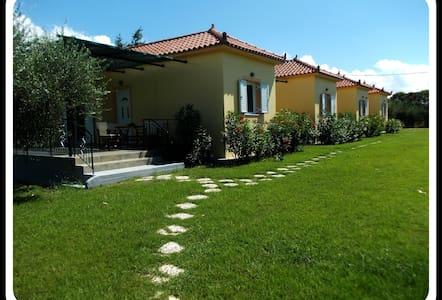 Guest Houses - ΑΝΘΟΣ ενοικιαζόμενα δωμάτια 5 - Kakovatos - Hus