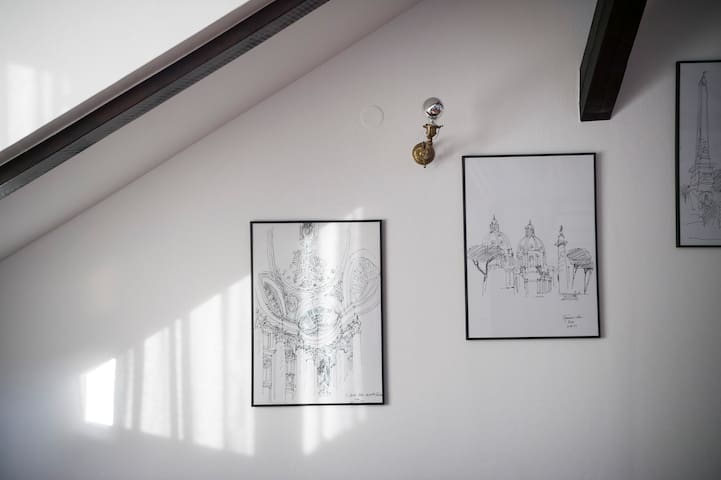 Former owner's very own sketches and his love for architecture are his legacy.