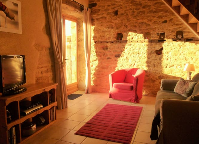 Sarlat, beautiful restoration, views, pool, garden