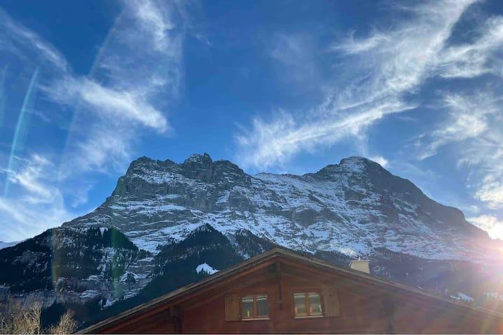 Apartment Eiger, Chalet Jasmine, Grindelwald