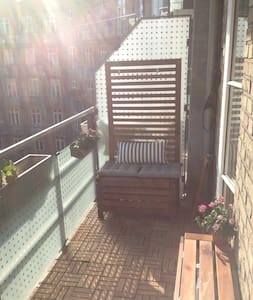 Apartment with sunny balcony!