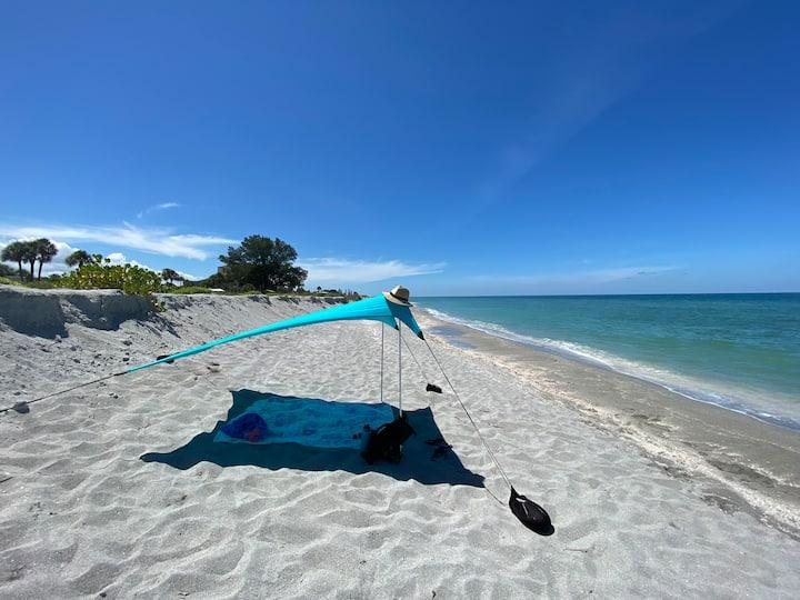 Venice Island condo- PRIVATE beach access-October$