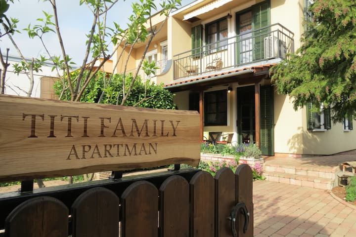 Titi Family Apartman Bükfürdő